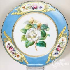 Тарелка «Роза». Севр
